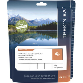 "Trek'n Eat Breakfast Alimentazione outdoor Muesli ""svizzero"" con latte in polvere 150g"